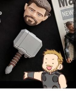 Thor 'Mjolnir | Hammer' Premium AirPods Case Shock Proof Cover