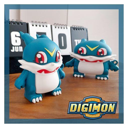 Digimon 'Veemon | 2.0' Premium AirPods Case Shock Proof Cover