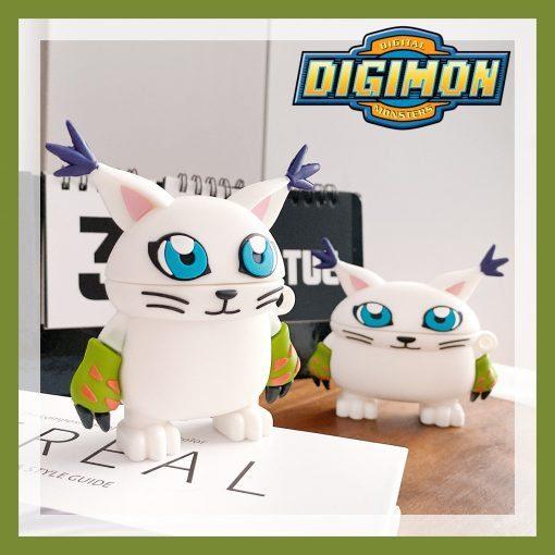 Digimon 'Gatomon' Premium AirPods Pro Case Shock Proof Cover