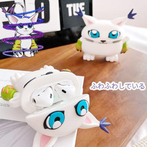 Digimon 'Gatomon' Premium AirPods Case Shock Proof Cover
