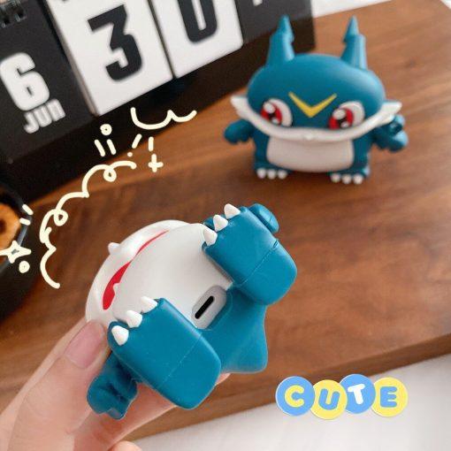 Digimon 'Veemon | 2.0' Premium AirPods Pro Case Shock Proof Cover