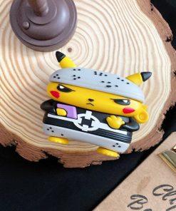 Pokemon 'Pikachu   Ninja' Premium AirPods Pro Case Shock Proof Cover