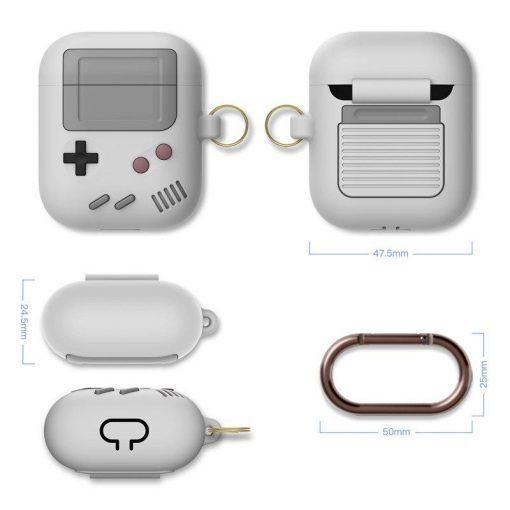 Classic Retro Gameboy Premium AirPods Case Shock Proof Cover