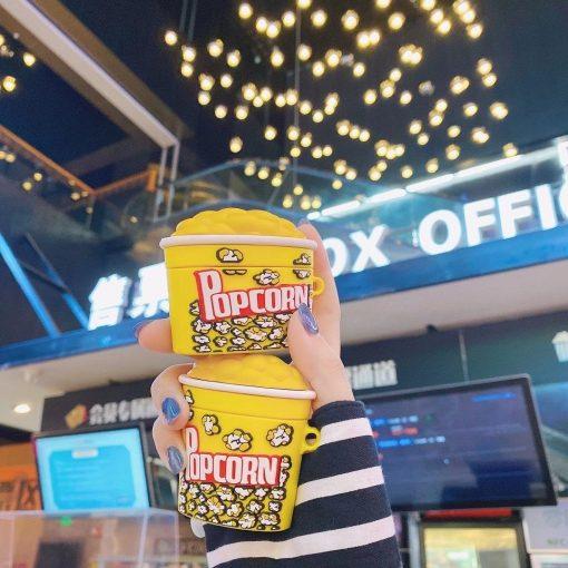 Movie Popcorn Premium AirPods Case Shock Proof Cover