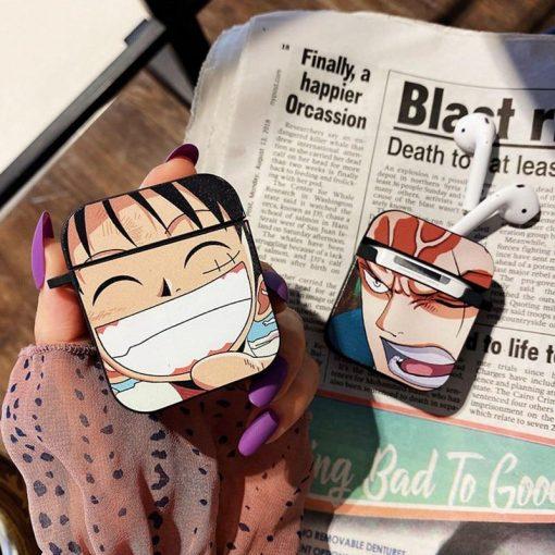 One Piece 'Luffy   Zoro   Modular   2.0' Premium AirPods Case Shock Proof Cover