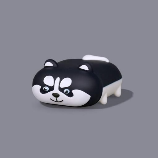 Cute Dog 'Walking Husky' Premium AirPods Case Shock Proof Cover