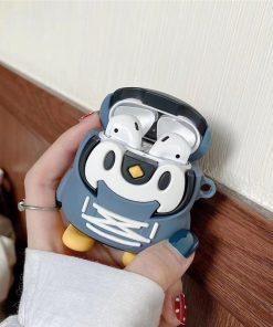 Penguin in a Cute Hoodie Premium Airpods Case Shock Proof Cover