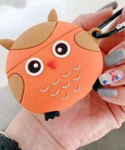 Cute Round Owl Premium AirPods Pro Case Shock Proof Cover