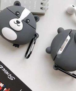 Cute Round Skunk Premium AirPods Pro Case Shock Proof Cover