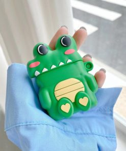 Cute Little Alligator Premium AirPods Pro Case Shock Proof Cover