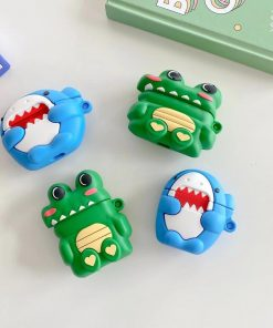 Cute Little Alligator Premium AirPods Case Shock Proof Cover