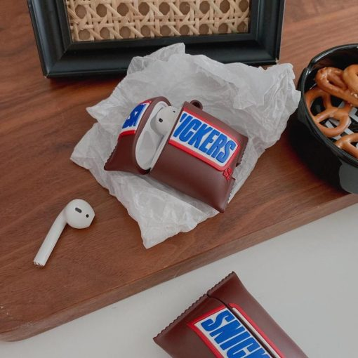 Snickers Premium AirPods Case Shock Proof Cover