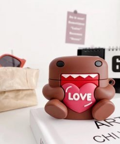 Cute Japanese Domo 'Love' Premium AirPods Pro Case Shock Proof Cover