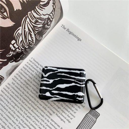 Zebra Print 'Modular' AirPods Pro Case Shock Proof Cover