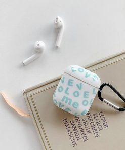 Cute Silicone 'Love' AirPods Case Shock Proof Cover