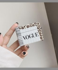 Vogue Leopard Modular AirPods Pro Case Shock Proof Cover