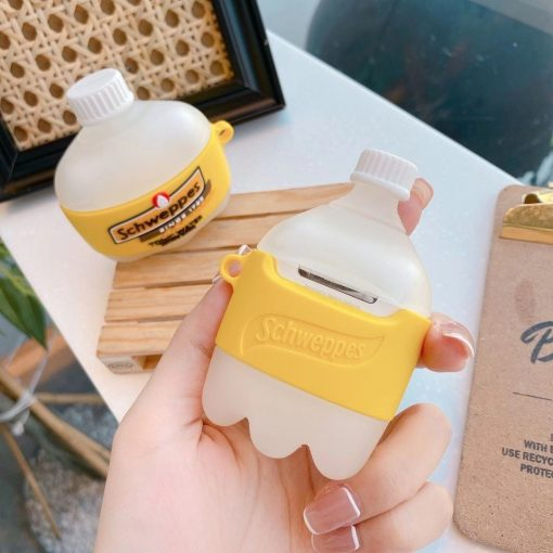 Schweppes Tonic Water Premium AirPods Case Shock Proof Cover