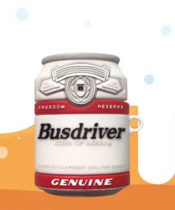 Busdriver Beer Can Premium AirPods Case Shock Proof Cover