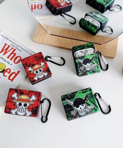 One Piece 'Luffy | Zoro | Logo' AirPods Case Shock Proof Cover