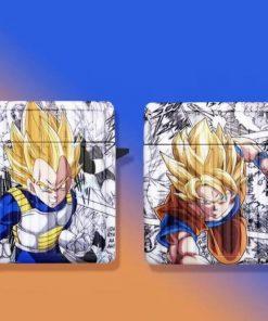 Dragon Ball Z 'Son Goku | Vegeta | Comic' AirPods Case Shock Proof Cover