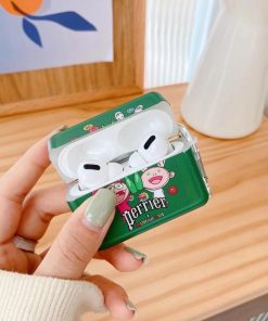 Perrier 'Takashi Murakami x Perrier' AirPods Pro Case Shock Proof Cover