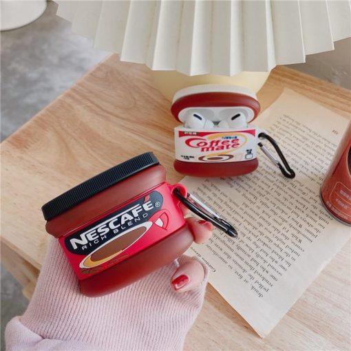 Nescafe Coffee Creamer Premium AirPods Pro Case Shock Proof Cover