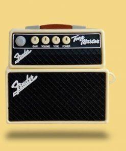 Fender Tone Master Vintage Guitar Amp Premium AirPods Pro Case Shock Proof Cover