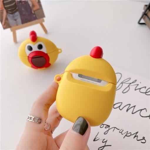 Cute Cartoon Chicken Premium AirPods Case Shock Proof Cover