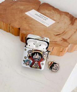 One Piece 'Cute Cartoon   Modular' AirPods Case Shock Proof Cover
