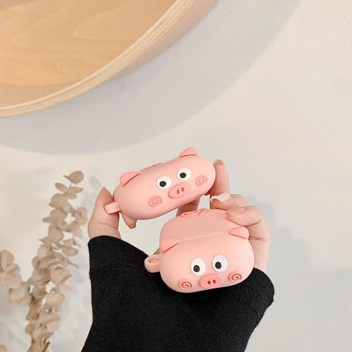 Cute Walking Pig '2.0' Premium AirPods Pro Case Shock Proof Cover