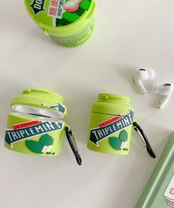 Triple Mint Japanese Gum Premium AirPods Pro Case Shock Proof Cover