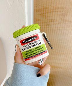 Australian Swisse Liver Detox AirPods Case Shock Proof Cover