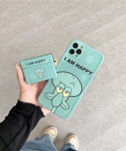 Spongebob 'Unimpressed | Squidward | Modular' AirPods Pro Case Shock Proof Cover