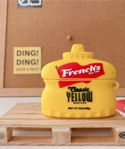 French's Yellow Mustard Premium AirPods Pro Case Shock Proof Cover