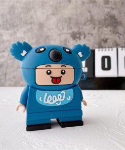 Lego Man 'Koala' Premium AirPods Case Shock Proof Cover