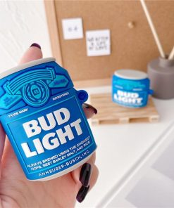 Bud Light Can Premium AirPods Case Shock Proof Cover