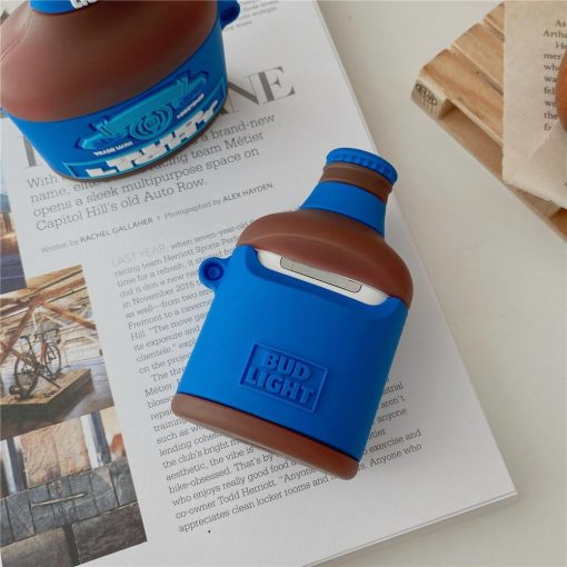 Bud Light Bottle Premium AirPods Pro Case Shock Proof Cover
