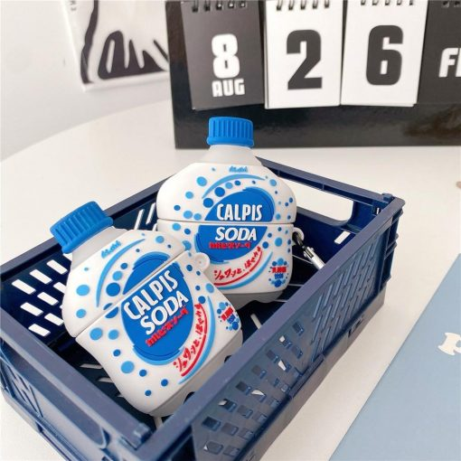 Japanese Calpis Soda Premium AirPods Case Shock Proof Cover