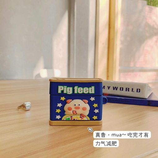 Pig Feed Spam Can Premium AirPods Pro Case Shock Proof Cover