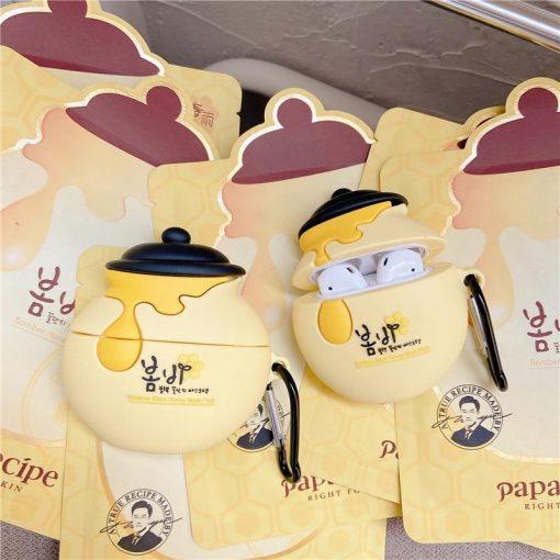 Japanese Honey Pot Premium AirPods Case Shock Proof Cover
