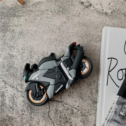 Kawasaki Motorcycle AirPods Case Shock Proof Cover