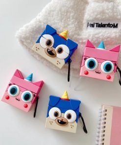 Lego 'Unikitty   Puppycorn' AirPods Case Shock Proof Cover