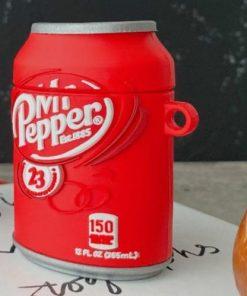 Dr. Pepper Can 'Mr Pepper ' Premium AirPods Case Shock Proof Cover
