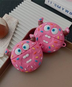 Crazy Devil Donut Premium AirPods Case Shock Proof Cover