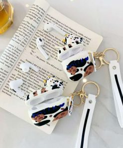 Cute Milk and Cookies Cow Premium AirPods Pro Case Shock Proof Cover