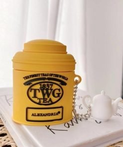 TWG Tea Premium AirPods Case Shock Proof Cover