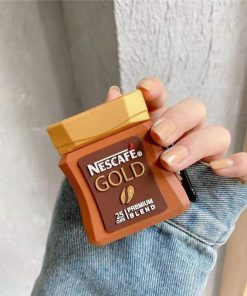 Nescafe Gold Instant Coffee Premium AirPods Case Shock Proof Cover