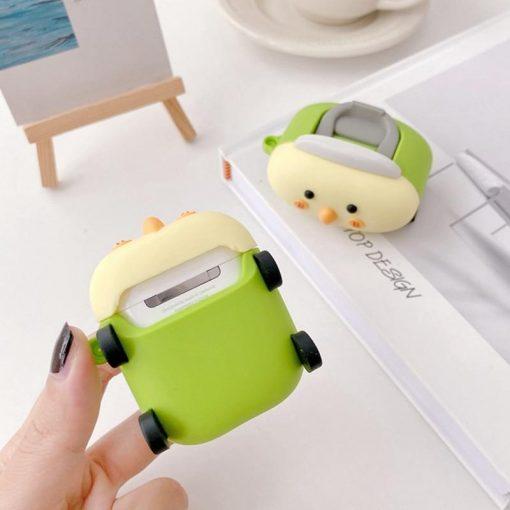 Cute Cartoon Toy Car Premium AirPods Case Shock Proof Cover