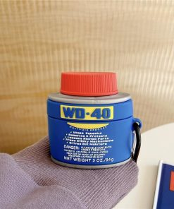 WD-40 Lubricant Can Premium AirPods Pro Case Shock Proof Cover
