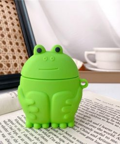 Cute Frog 'Hugging Knees' Premium AirPods Pro Case Shock Proof Cover